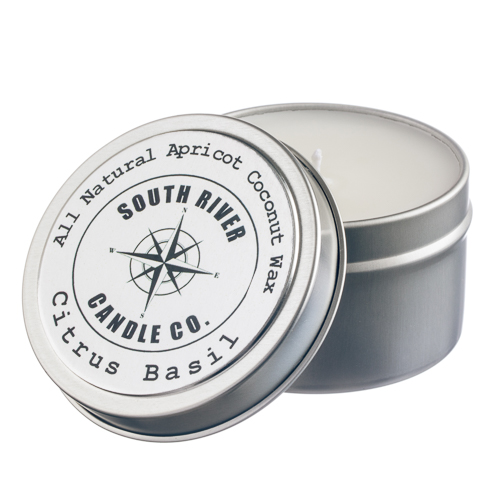 Scented Travel Candles Apricot Coconut Wax Over 120