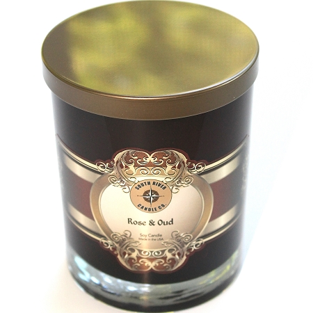 Rose And Oud Luxury Candle