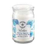 Winter Collection - 18 oz Apothecary Jar - Apricot Coconut Wax
