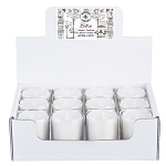 Bistro Collection - 3 oz Tumbler Jars - 12 Pack Display Box