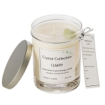 Aquamarine Crystal - CLARITY - Energy Candle - Classic 13 Ounce