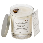 Tiger Eye Crystal - PROSPERITY - Energy Candle - Classic 13 Ounce
