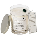 Bloodstone Crystal - STRENGTH - Energy Candle - Classic 13 Ounce