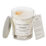 Citrine Crystal - HAPPINESS - Energy Candle - Classic 13 Ounce