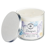 Designer Collection - 18 oz 3 Wick Tumbler Jar - Apricot Coconut Wax