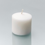 72 Unscented White 10 Hour Votive Candles - Soy Blend