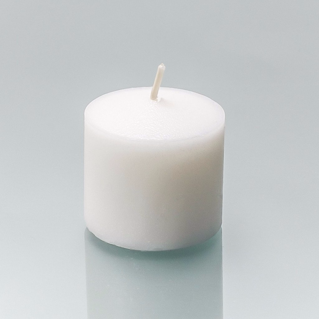 bcc80a77188 72 Unscented White 10 Hour Votive Candles - Soy Blend