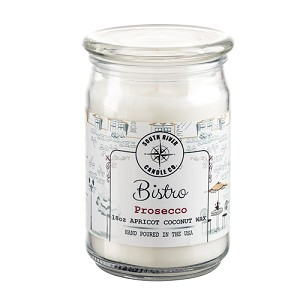 Bistro Collection - 18 oz Apothecary Jar - Apricot Coconut Wax