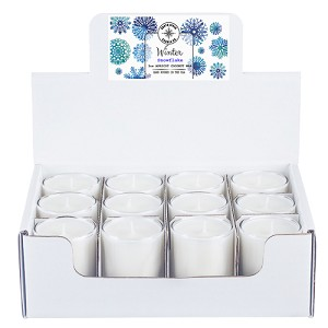 Winter Collection - 3 oz Tumbler Jars - 12 Pack Display Box