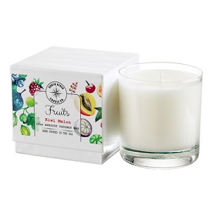 Fruits Collection - 10 oz Tumbler Jars in White Box - Apricot Coconut Wax