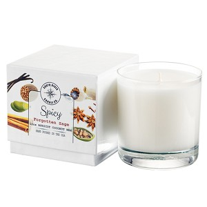 Spicy Collection - 10 oz Tumbler Jars in White Box - Apricot Coconut Wax