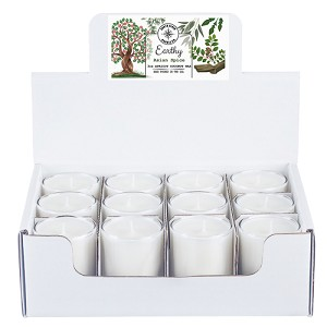 Earthy Collection - 3 oz Tumbler Jars - 12 Pack Display Box