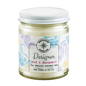 Designer Collection - 9 oz Straight Side Jars - Apricot Coconut Wax