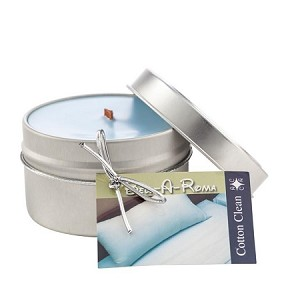 Scented Soy Candle in 6 oz Travel Tin