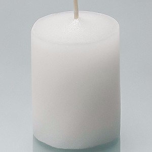 36 White Unscented Soy Blend Votive Candles - 15 Hour Burn